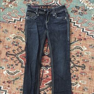 Size 27 Debbie Rock Revival Black Jeans
